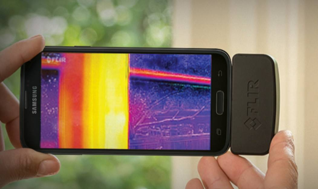 Location-FLIR-one-android