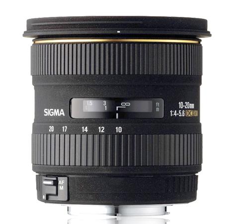 Sigma 10-20mm f4-5.6 HSM